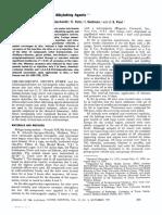 Carcinogenic Activity of Alkylating Agents