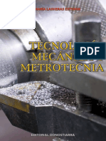 LASHERAS, J. M Tecnologia Mecanica y Metrotecnia