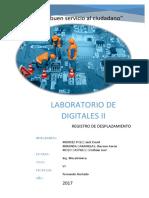 Laboratrio 6 - Registro de Desplazamiento Paralelo en Serie (Piso)