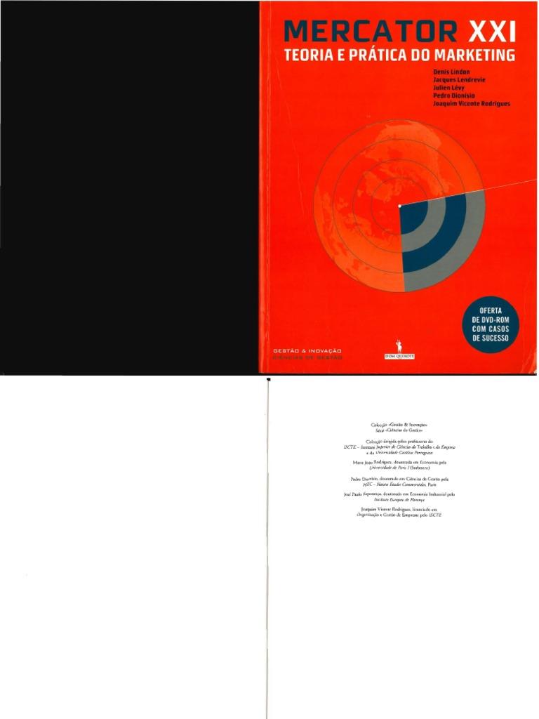 Mercator XXI Teoria e Prática Do Marketing 201 4f61fe52f7