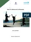 UNICEF Study State of Adolescents in Romania