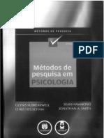 Métodos de pesquisa em Psicologia.
