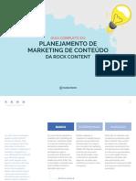 Guia Completo Do Planejamento de Marketing de Contedo Da Rock Content