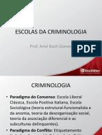 Criminologia Escola Classica e Positiva