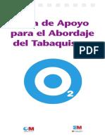 Guía de Apoyo para el Abordaje del Tabaquismo