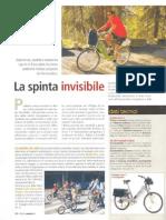 Biciclette elettriche Frisbee segnalate sul mensile PleinAir