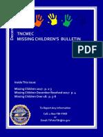 DECEMBER 2017 Missing Children's Bulletin