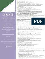 EZaranec Resume
