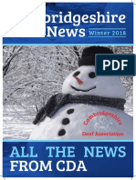 Cambridgeshire Deaf News Winter 2017 / 18