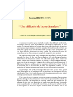 Freud Difficulté