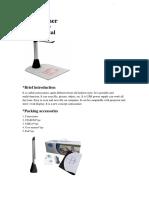 Camscanner User Manual LX