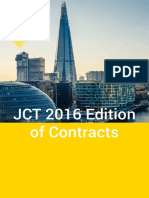 JCT 2016 Edition Information Booklet