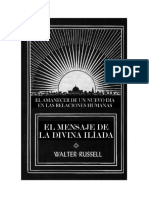 El mensaje de la Divina Il°ada Vol 1
