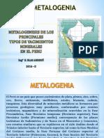 Metalogenesis Jorge S.