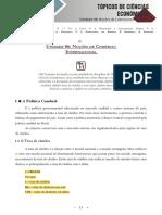 Topicos de Ciencias Economicas - Unidade 06
