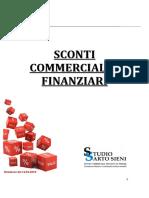 Sconti Commerciali e Finanziari