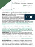 Symptomatic Treatment of Acute Pharyngitis in Adults - UpToDate