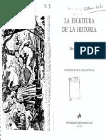 La escritura de la historia - De Certeau.pdf