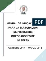 Guia Para Elaborar Proyectos Pis-2017 (1)