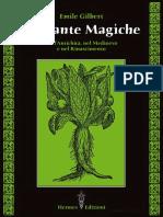 Emile Gilbert-Le piante magiche. Nell'antichità, nel Medioevo e nel Rinascimento-Hermes (2008).pdf