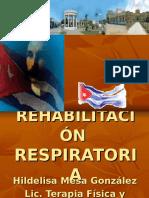 REHABILITACION RESPIRATORIA 2017
