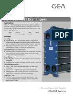 Enfriador de Placas - Gea Ecoflex Mod. Nt50t 36 Placas - Hoja 2