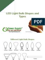 Green Supply_LED Light Bulb Types