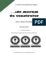 Inacio Vacchiano, Manual Prático Do Mestre de Obras - 2017 - V7 - Selo 3