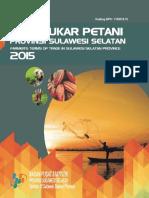 Nilai Tukar Petani Sulawesi Selatan 2015