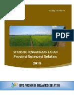 Statistik Penggunaan Lahan Provinsi Sulawesi Selatan 2015