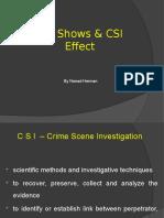 CSI Effect by Nenad Herman