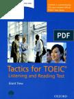 Tactics for TOEIC - Book