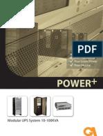 Power+ a parallel redundant UPS - Uninterruptible Power Supply