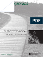 ARQUITECTONICS MAGHNAGI Proyecto Local Hacia Una Conciencia de Lugar