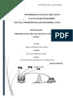 IMPORTANCIA DE LOS GPS EN LA INGENIERÍA CIVIL
