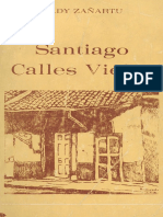 Sady Zañartu Santiago Calles Viejas