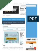 Cara Reset Pola Atau Password OPPO A37_A37F - MTKDeveloper