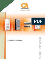 Gamatronic - Product Catalog