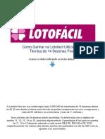 Como Ganhar Na Lotofacil Download PDF Gratis 130818162154 Phpapp02