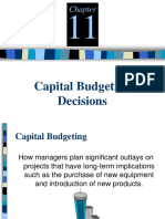 2127AK413L51520171 Capital Budgeting