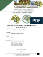 Proceso Administrativo Organizacion