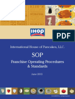 IHOP Sop Operating Procedures and Standards June2013
