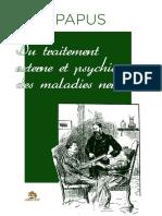 Encausse G'Rard - Du Traitement Externe Et Psychique Des Maladies Nerveuses