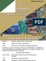 Capacitación Tronadura Explosivos historia clasificación propiedades.pptx