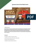 Etika Penggunaan Internet Dan Media Sosial