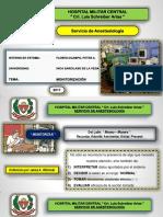 Monitorización en Anestesiología ( Presentación )