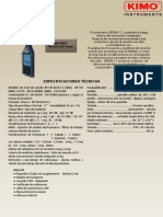 Sonometro DB3002 B 1
