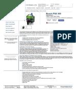 Bosch FSA 500