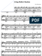 Reviving Hollow Bastion Sheet Music