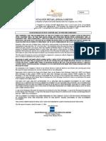 Placement Document December 16